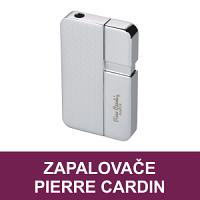 Elegantní kovové zapalovače Pierre Cardin a Caseti. Velmi kvalitní tryskové zapalovače pro kuřáky doutníků nebo dýmkové zapalovače pro vyznavače dýmek, to je značka Pierre Cardin.