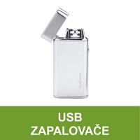 USB zapalovače. Elektrický USB zapalovač se zapalováním el. obloukem nebo žhavící spirálou a USB nabíjením. USB zapalovače ve velkém výběru, skladem. Zapalovače USB vhodné jako dárek.