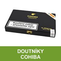Kubánské doutníky Cohiba. Nejznámější značka kubánských doutníků po celém světě - jednoduše Cohiba. Kubánské doutníky Cohiba jsou vyhlášené svojí výbornou chutí, vysokou kvalitou a tradicí. Velký výběr doutníků Cohiba včetně LE edice Cohiba Behike.