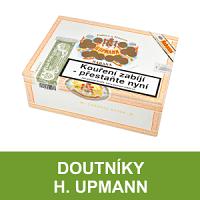Kubánské doutníky H. Upmann. Vynikající kubánské doutníky H. Upmann jsou vyráběny ve vysoké kvalitě, v jemných až středně silných chutí a různých formátech. Doutníky skladem, ihned k odeslání.
