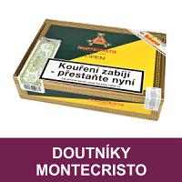Kubánské doutníky Montecristo. Velmi oblíbené doutníky vynikající kvality a chutě. Kubánské doutníky Montecristo jsou nejprodávanější značkou ručně balených kubánských doutníků. Doutníky charakterizuje střední až silná chuť. Doutníky skladem.
