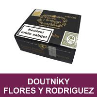 Doutníky Flores y Rodriguez z Dominikánské republiky. Kvalitní a velmi oblíbené doutníky z Dominikánské republiky od PDR Cigars Factory založenou A. Floresem. Značka Flores y Rodriguez přináší prémiové dominikánské doutníky jedinečné chutě a vůně.