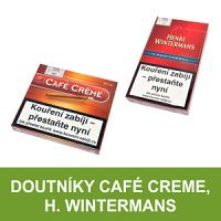 Doutníky Cafe Creme. Malé aromatizované doutníčky nebo-li cigarillos pro pohodové pokouření u dobré kávy. Doutníky Henri Wintermans charakterizuje příjemná tabáková chuť s náznakem chutě kávové.