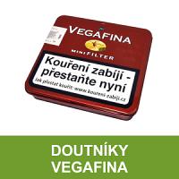 Doutníky Vegafina. Velmi chutné a oblíbené suché doutníky Vegafina jsou vyráběné z kvalitního tabáku. Některé druhy mini doutníků (cigarillos) jsou lehce kořeněné. Doutníky skladem, ihned k dodání.