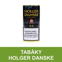 Kvalitní dýmkový tabák Holger Danske. Velký výběr i z jiných značek tabáků. Skladem.