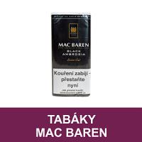 Kvalitní dýmkový tabák Mac Baren. Velký výběr i z jiných značek tabáků. Skladem.