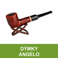 Kvalitní bruyerové dýmky Angelo s 6mm nebo 9mm filtrem. V nabídce veškeré příslušenství pro kouření dýmky jako jsou filtry do dýmky, čističe, pouzdra na dýmky, dusátka, dýmkové zapalovače, popelníky, stojánky na dýmky.