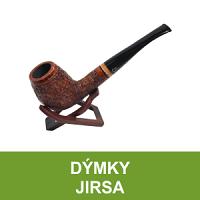 Kvalitní dýmky Jirsa od známého výrobce Oldřicha Jirsy. Precizně ručně zpracované dýmky z bruyerového dřeva - to je dýmka Jirsa. Každá dýmka je svým vzhledem unikátní, takže už tu Vaši nikdo nebude mít. Dále nabízíme kompletní dýmkové příslušenství.