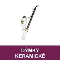 Dýmky keramické a vyřezávané dýmky dřevěné BPK Proseč. Porcelánky s různými motivy, vyřezávaná dýmka vhodné jako dárek. Skladem.