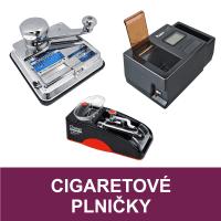 Plničky cigaretových dutinek (cigaret), elektrická plnička dutinek, cigaretová balička, manuální plničky cigaret. Kvalitní elektrická plnička dutinek (plnička cigaret) Powermatic III, II skladem. Tlaková plnička dutinek OCB Mikromatic Duo, Angel Pro Tube