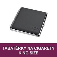 Cigaretová pouzdra a tabatěrky, pouzdra na cigarety. Tabatěrky na slim cigarety, na stovkové cigarety, cigarety King Size. Pouzdro na cigarety Clic Boxx - pouzdro na krabičku cigaret. Velký výběr, vše skladem.